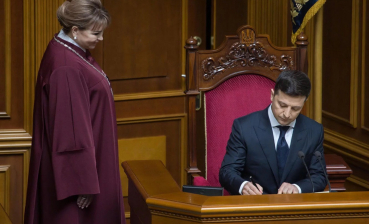 Ukrainian is not in passport, but in heart. Inaugural speech of Zelensky