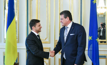 President Zelensky discusses Russian gas transit with European Commission Vice-President Sefcovic