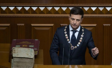 Zelensky's YouTube channel releases vlog on inauguration's behind-the-scenes