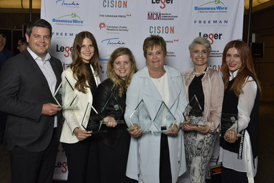 CPRS Toronto celebrates communications excellence at the 2019 ACE Awards Gala
