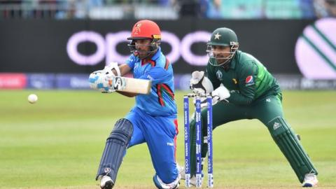 Afghanistan beat Pakistan in Cricket World Cup warm-up
