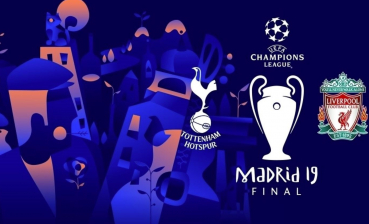 UEFA Champions League Final comes up June 1