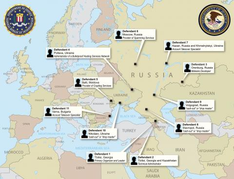 Europol, DOJ announce the takedown of the GozNym banking malware