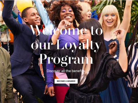 H&M's new loyalty program offers members birthday discounts and 20% off a blowout at Drybar