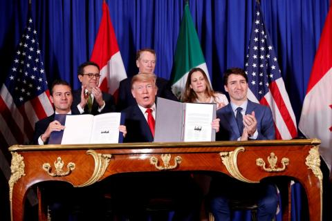 Trump rolls back steep tariffs on metal from Canada and Mexico