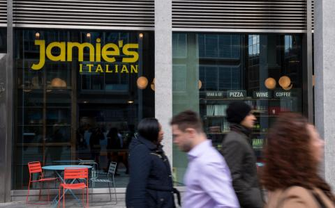 Jamie Oliver's restaurant empire collapses with 1,300 jobs at risk
