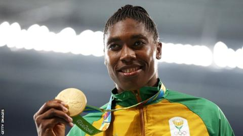 Semenya named in South Africa team for World Championships