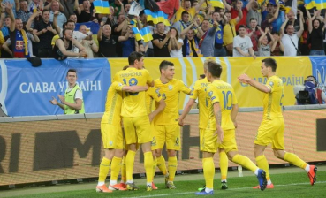 Ukraine beats Luxembourg in UEFA Euro 2020 qualification