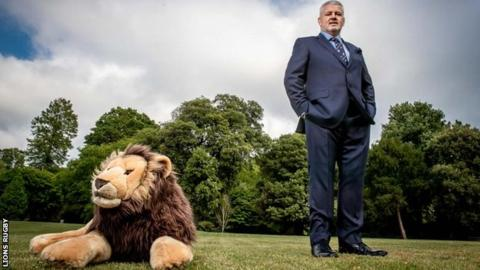 Gatland named British and Irish Lions coach for 2021 South Africa tour