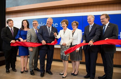 Premier Doug Ford joins Osler for official opening of new patient tower at Etobicoke General Hospital