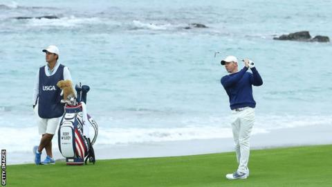McIlroy in contention as three set clubhouse lead