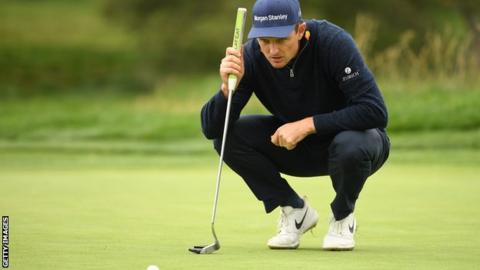 US Open: Justin Rose leads, Koepka in contention, McIlroy among late starters