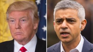 Trump hits out again at London mayor over violence