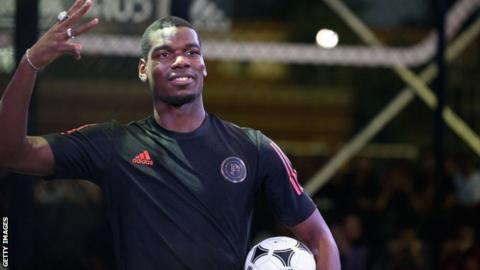 Paul Pogba: Man Utd midfielder says