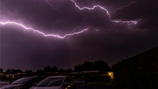 Eastbourne sees 1,000 lightning strikes in one hour