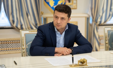Zelensky discussed priorities of his activity with YES representatives