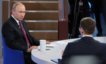 Accusations of Russia of Donbas occupation is complete nonsense, - Putin