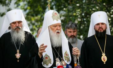 Orthodox Church of Ukraine deprives Filaret of rights for Kyiv eparchy, churches