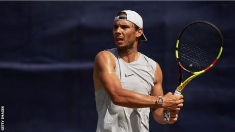 World number two Nadal seeded third for Wimbledon