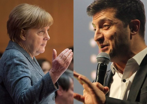 Zelensky, Merkel to meet in Berlin on June 18