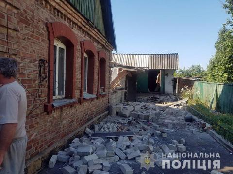 Militants shell dwelling houses in Mariinka: 9-year-old child injured,
