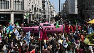 First Extinction Rebellion protesters appear in court