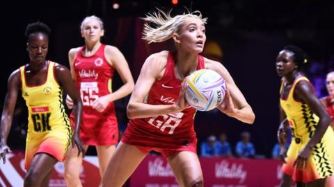 England beat Uganda in Netball World Cup opener
