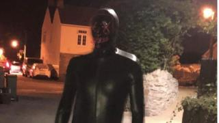 Claverham 'gimp suit' man terrifies woman in village