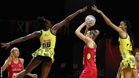 Netball World Cup 2019: England survive tough Jamaica test
