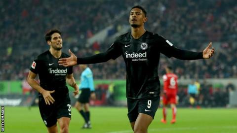 Sebastian Haller: West Ham set to sign Eintracht Frankfurt striker for up to?45m