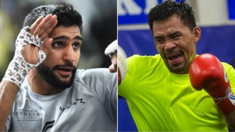 Amir Khan claims Manny Pacquiao bout will take place in Saudi Arabia