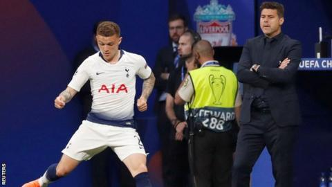 Tottenham defender Trippier set to join Atletico Madrid