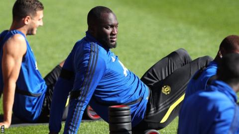 Lukaku left out of squad for Man Utd friendly in Norway