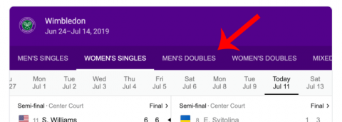 There's a tennis game hidden in Google right now. Here's how to find it