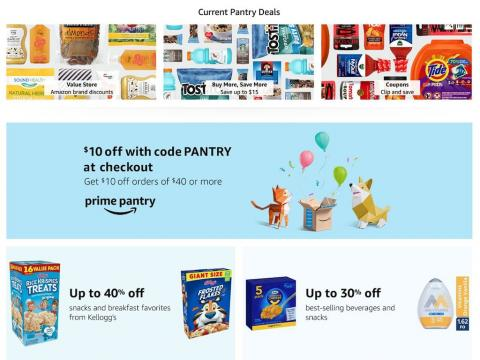 I use Amazon's Prime Pantry on a semi-regular basis since it's so convenient a?? and it's running a great Prime Day deal now