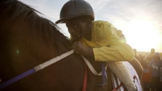 Traditional horse-racing in South Africa
