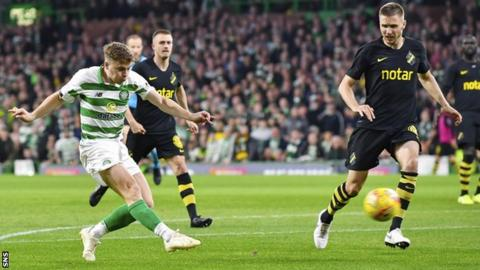 Forrest & Edouard ease Celtic to Europa League play-off first-leg win over AIK