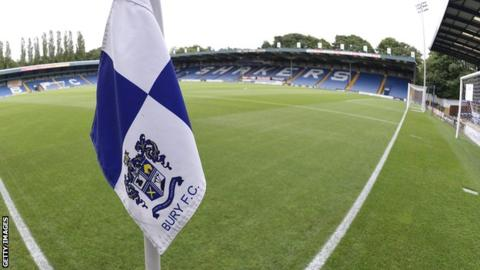 Bury owner Dale says club has been sold as EFL expulsion deadline nears