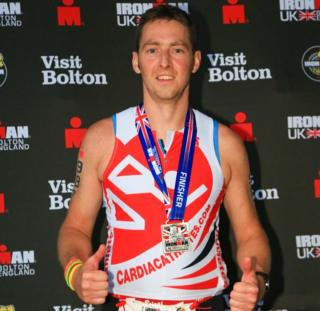 Ayrshire man goes from heart patient to Ironman in 16 months