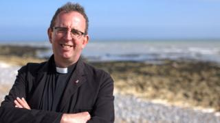 Rev Richard Coles pop star vicar in loo drama