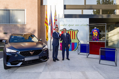 CUPRA and FC Barcelona Join Forces in a Global Alliance