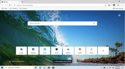 Microsoft's new Chromium-based Edge browser is now in beta