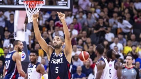 USA stunned by France in Basketball World Cup