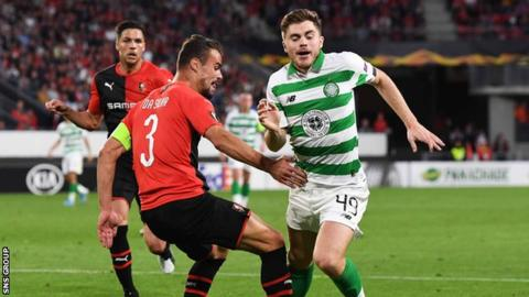 Rennes 1-1 Celtic: Christie