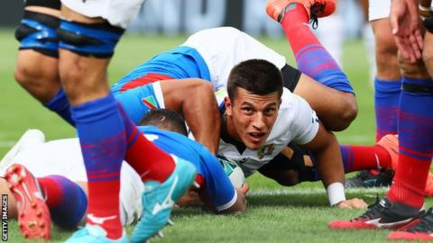 Italy cruise past Namibia with bonus-point victory in Osaka