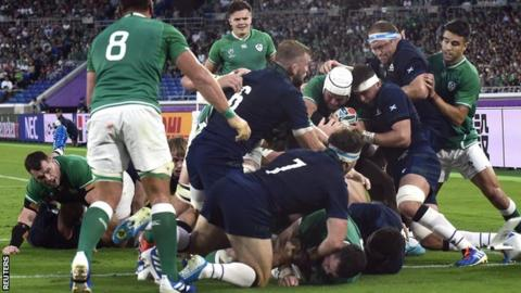 Ireland 27-3 Scotland: Joe Schmidt