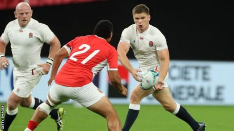 England: Ruaridh McConnochie, Joe Cokanasiga & Piers Francis to make Rugby World Cup debuts