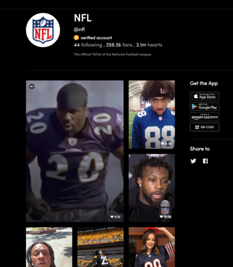 The NFL joins TikTok in multi-year partnership