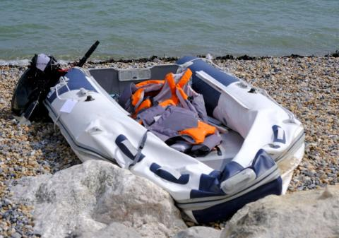 Channel migrants: Two boats found after 86 attempted crossing
