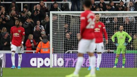 Manchester United: David de Gea says performances are unacceptable